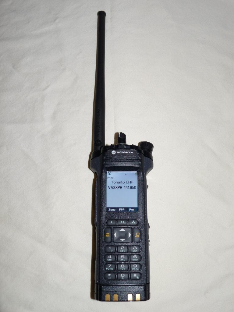 APX7000, APX 7000, Motorola, dual band, dualband, multi-band, portable, radio, P25, project 25, analog, VA3XPR, review, reviews, amateur radio, ham radio, public safety, commercial