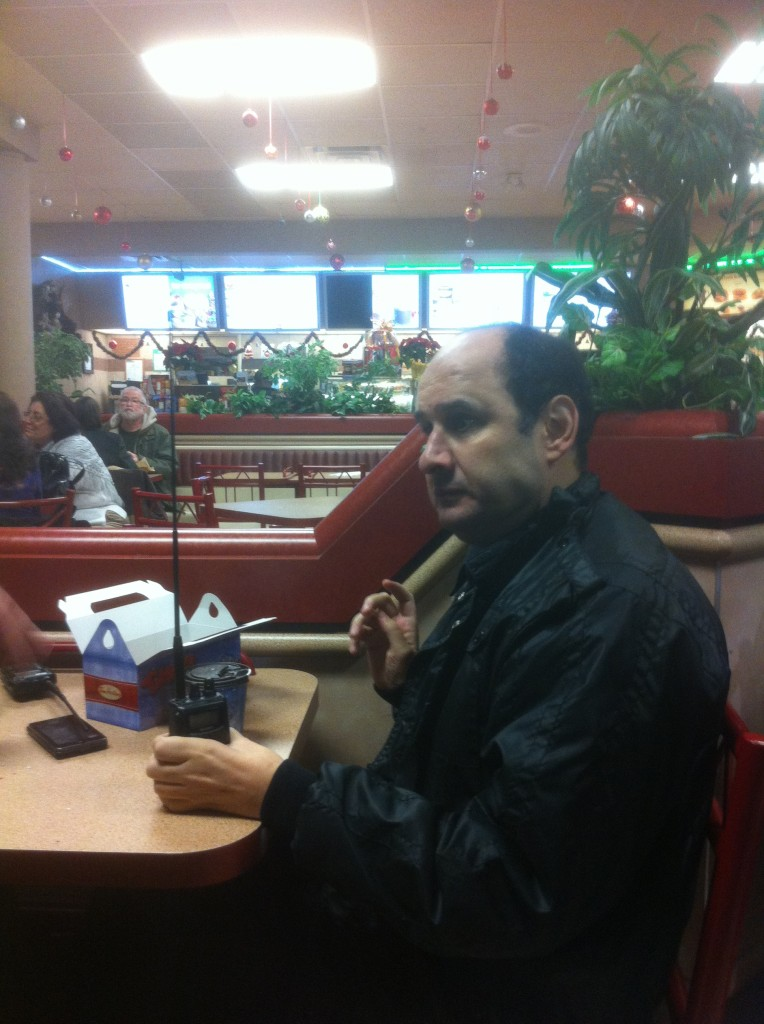 Rudie VE3OUA Scarborough amateur radio club VA3XPR HT Christmas Giving Toronto ham
