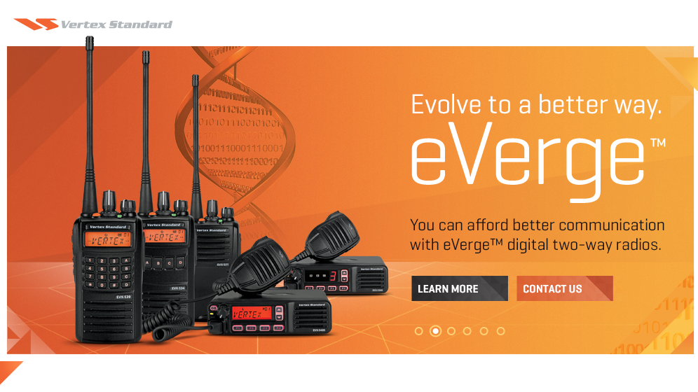 Vertex eVerge DMR radio VA3XPR repeater digital Toronto ham amateur