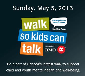 Kids Help Phone VA3XPR 2013 Walk So Kids Can Talk Toronto amateur radio ham repeater