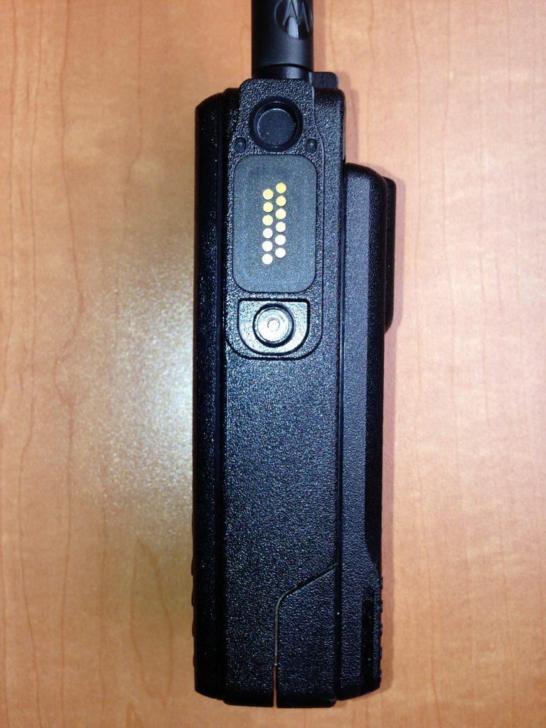 VA3XPR, Motorola, XPR7550, XPR 7550, MOTOTRBO, portable, radio, DMR, digital mobile radio, ham radio, amateur radio, Toronto, accessory, connector