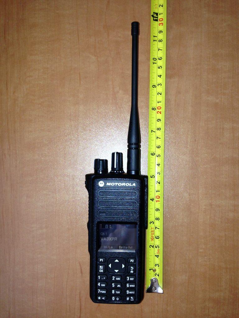 Motorola, MOTOTRBO, XPR7550, XPR 7550, portable, radio, DMR, digital mobile radio, VA3XPR