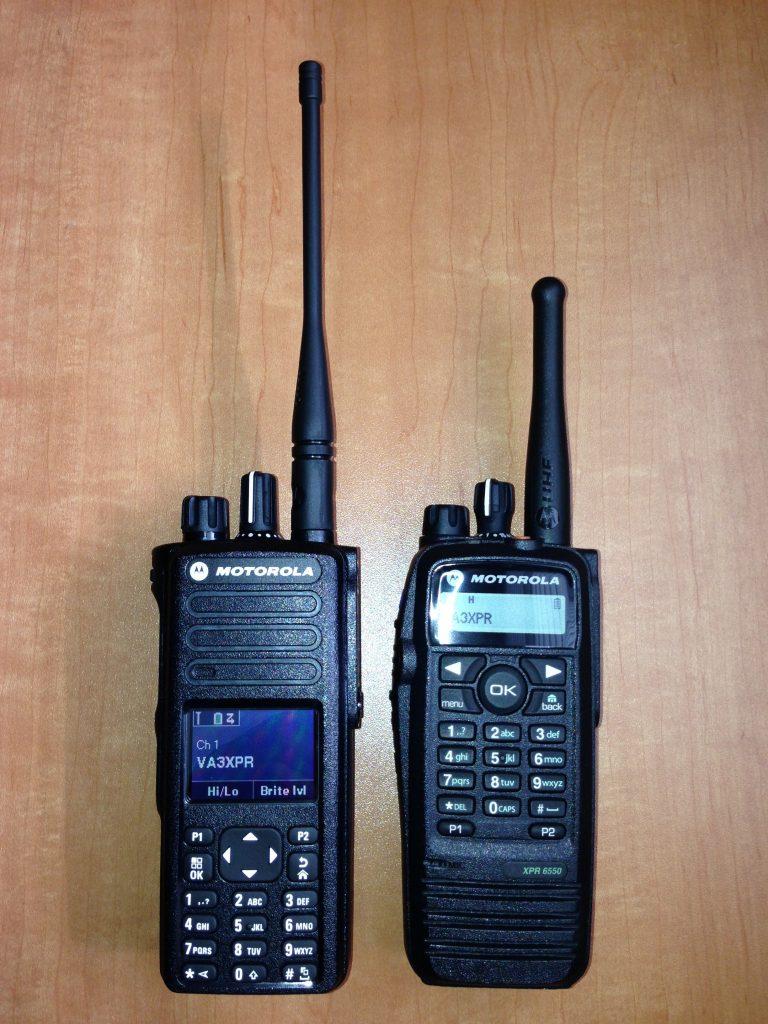 VA3XPR, Motorola, MOTOTRBO, XPR7550, XPR6550, XPR 6550, XPR 7550, HT, handie talkie, portable, radio, amateur radio, ham radio, DMR, digital mobile radio