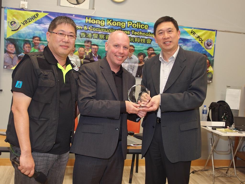 Digital Mobile Radio, presentation, Hong Kong People Radio Club, VR2HKP, DMR, VA3XPR, Don Trynor, VA3XFT, Charles Tsang, VR2XJN, Berlin