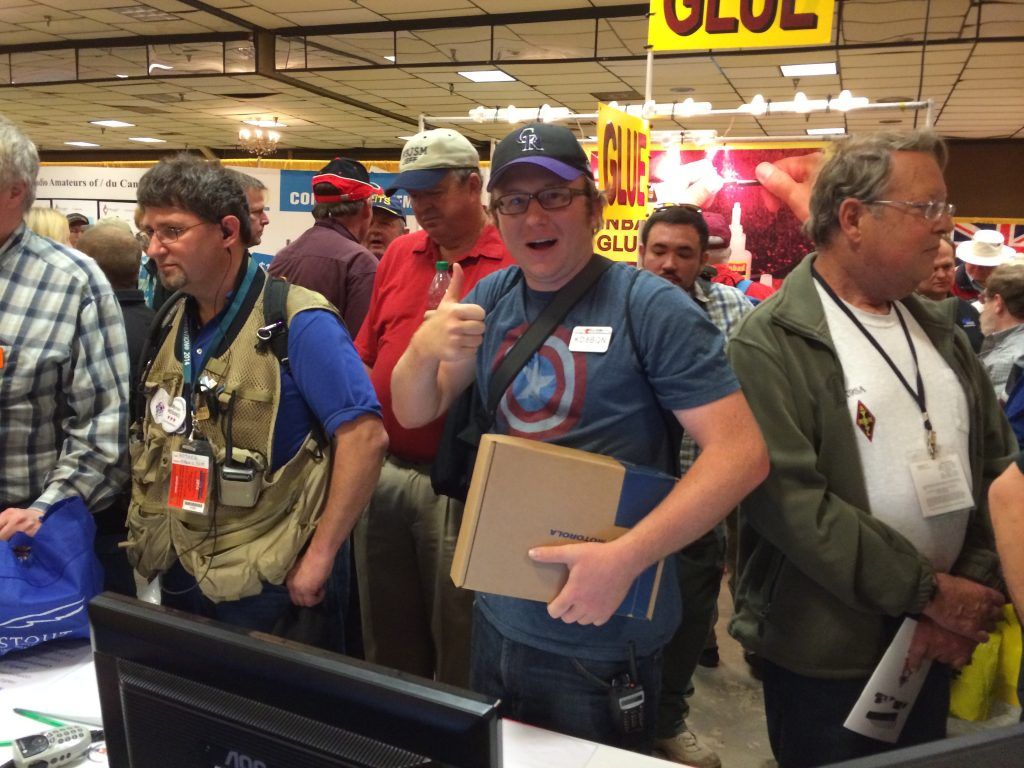 KD8BQN, DMR-MARC, DMR, Dayton Hamvention, 2014, winner, radio draw