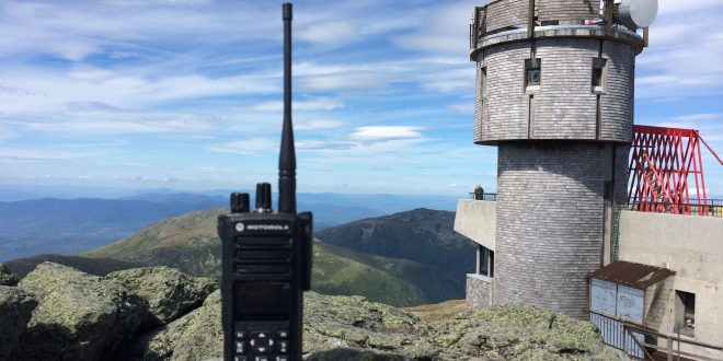 Mount Washington DMR Motorola Mototrbo VA3XFT New Hampshire ham radio