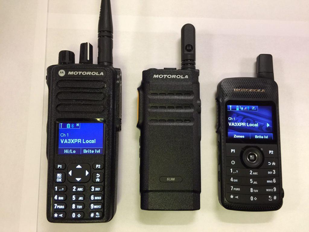 Motorola SL300 MOTOTRBO SL1600