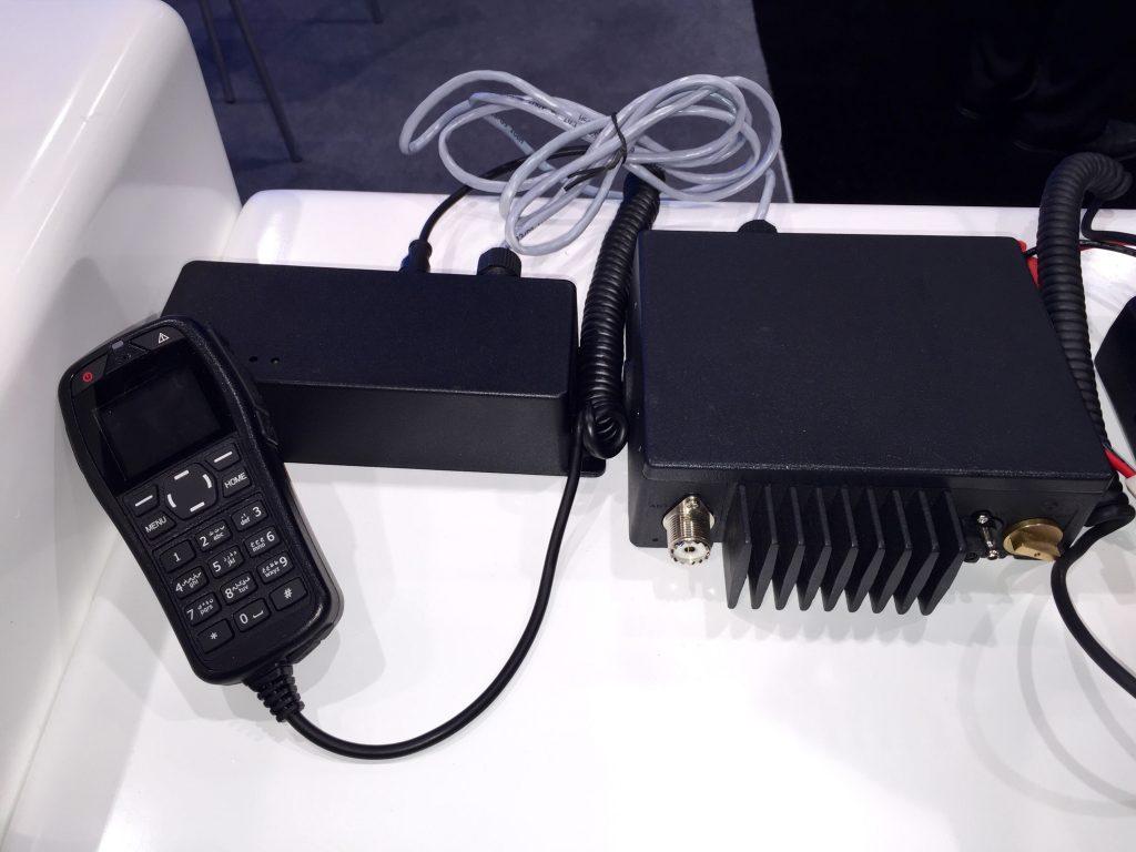 BFDX mobile radio remote mount head