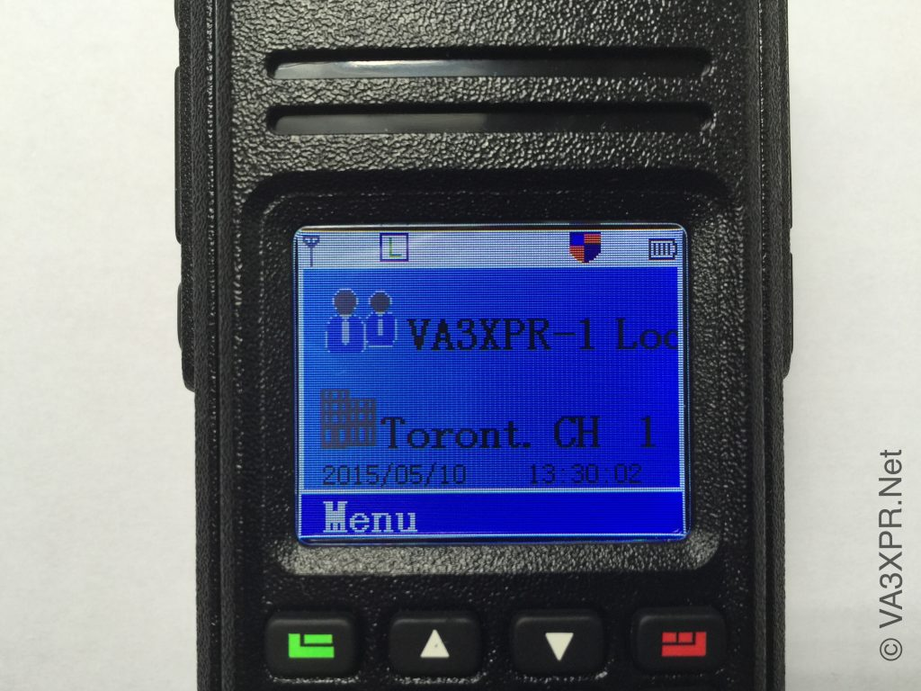 Tytera TYT MD-380 multicolour LCD display