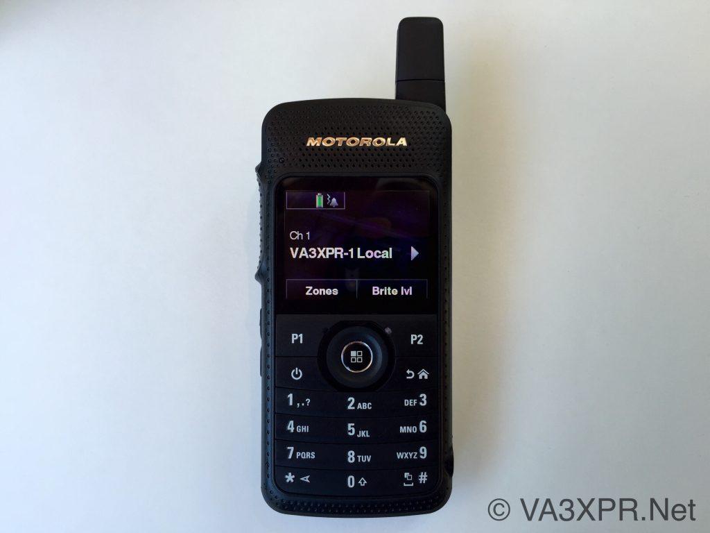 Motorola MOTOTRBO SL 7550 DMR radio digital mobile ham VA3XPR