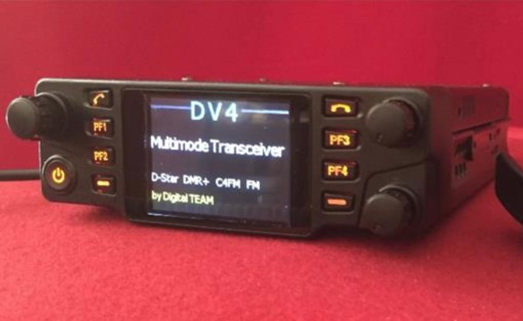 DV4mobile VA3XPR, tri-band, triband, multimode, multi-mode, mobile, FM, DMR, D-STAR, dPMR, P25, NXDN, ham radio, amateur radio, LTE, C4FM, system fusion