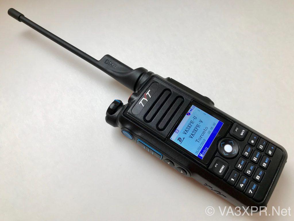 Tyera TYT dual band VHF UHF DMR portable radio
