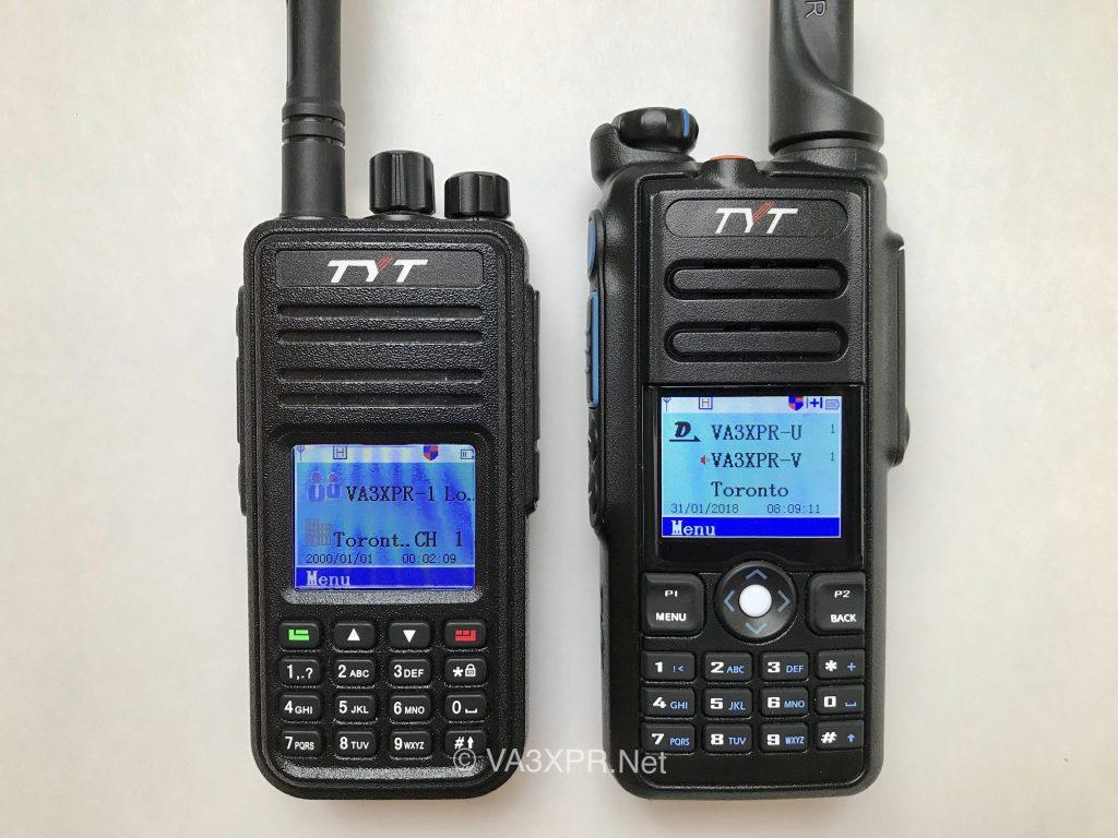 TYT MD-380 MD-2017 dual band VHF UHF portable radio DMR