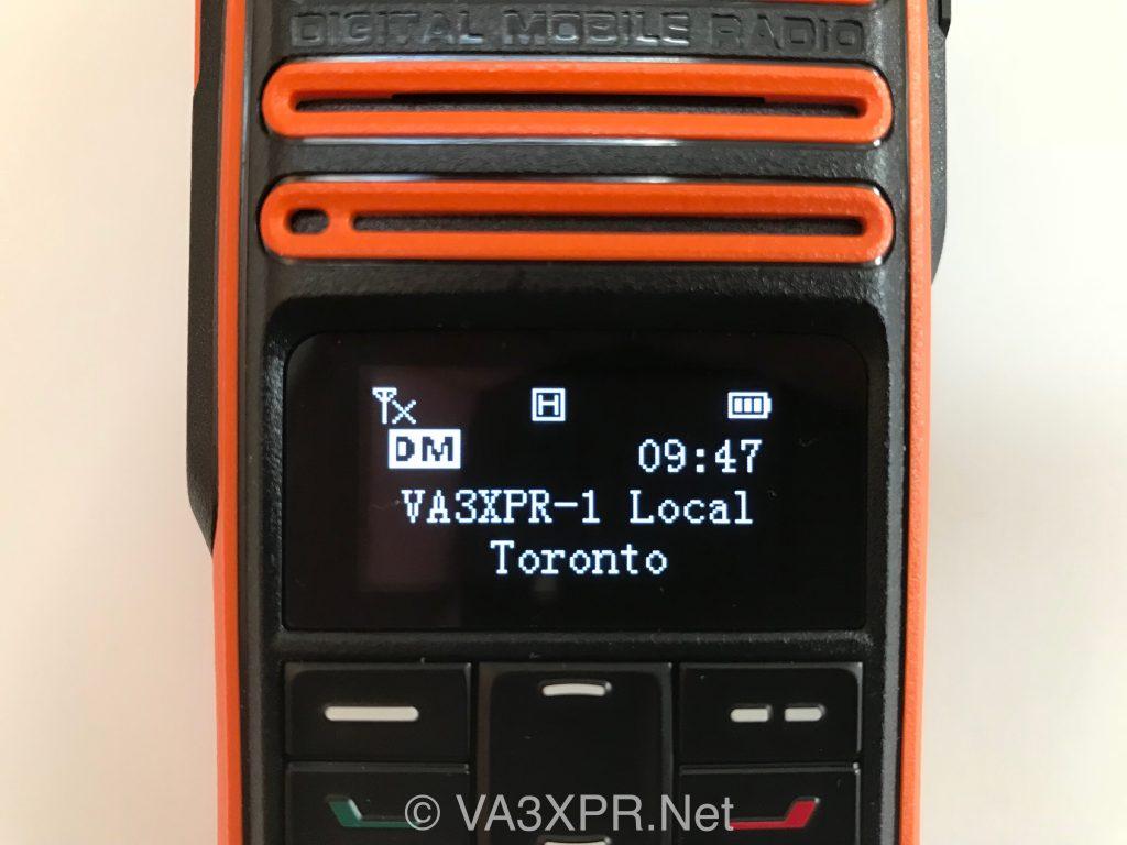 OLED display Hytera TD580 UHF DMR radio ham