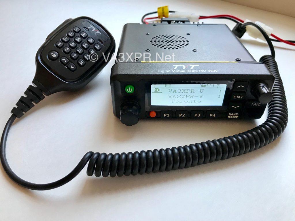 TYT MD-9600 VHF UHF DMR mobile radio ham