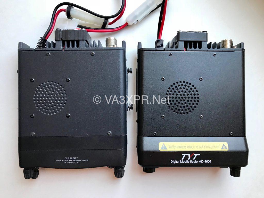 TYT MD-9600 Yaesu FT-8900R ham radio DMR body